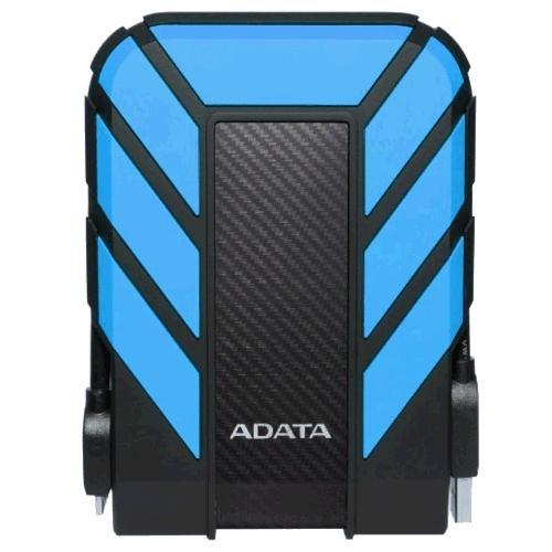 Image of ADATA HD710 Pro 3TB USB 3.1 IP68 Waterproof/Shockproof/Dustproof Ruggedized External Hard Drive, Blue (AHD710P-3TU31-CBL)