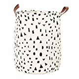 AmyDong Storage Box, Storage Bucket,Household Dirty Clothes Storage Basket Canvas Sheets Laundry Clothes Toy Basket Waterproof (B)