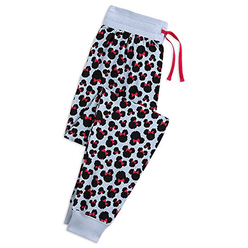 Disney Minnie Mouse Animal Print Lounge Pants For Women Size L