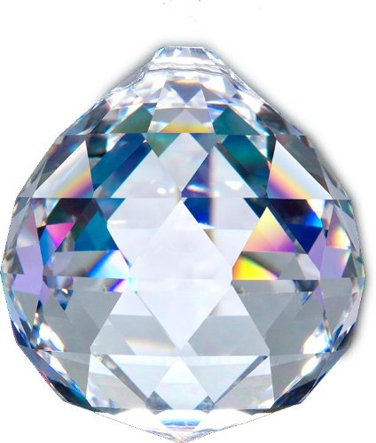 40mm Large Asfour Crystal Ball Prism Pendant Suncatcher