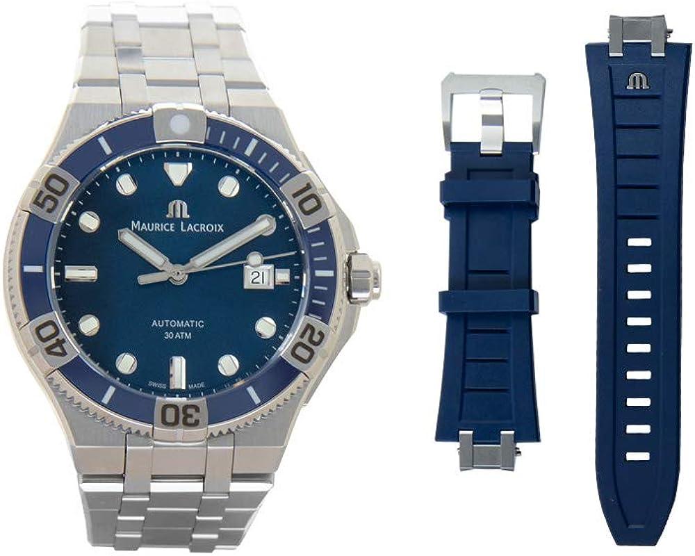 Reloj Automático Maurice Lacroix Aikon Venturer, 43 mm, Azul, AI6058-SS002-430-2