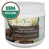 Shea Butter Organic African Raw – 16 oz & USDA Certified Unrefined
