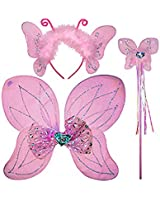 Cutie Collection Girl's Butterfly Fairy Dress Up Set