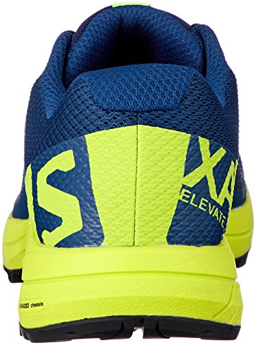 da 000 Green Trail Poseidon Scarpe Salomon XA Uomo Elevate Black Running Lime Blu q4Hnx6tn7