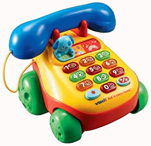 Amazon.com: VTech - Pull & Lights Phone: Toys & Games