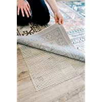 Terazzo SUPER GRIPPER PAD 5 X 8 RUG MAT HARDWOOD FLOORS 5 x 8 Provides Protection Cushion Area Rugs Floor Provides Protection Cushion Area Rug