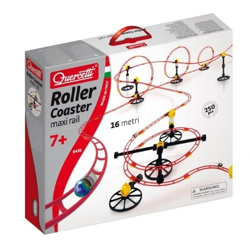 (Quercetti Skyrail Marble Run Roller Coaster 250-pc. Set Children, Kids, Game )