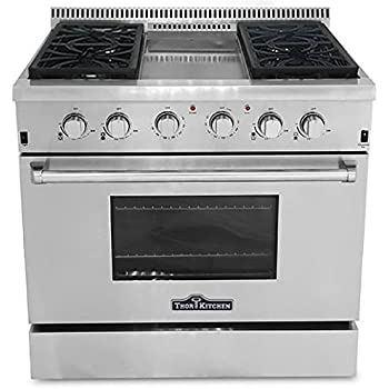 commercial 6 burner gas range with convection oven garland g36 6c 36 viking griddle kitchen freestanding stain