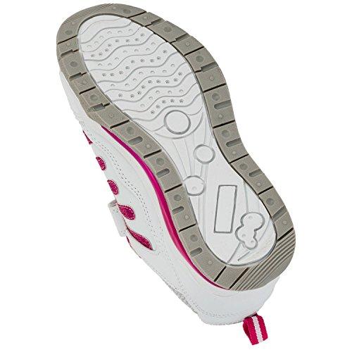 Max - Zapatillas de running de Material Sintético para niña - #825 Weiss