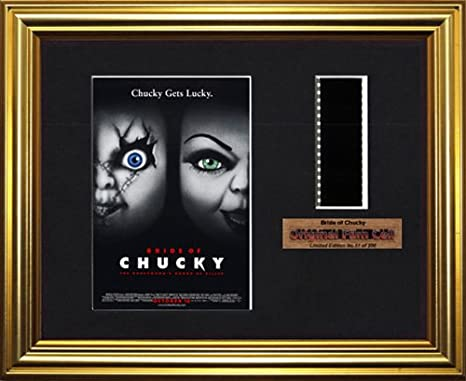 Bride of Chucky - Framed filmcell picture (g)
