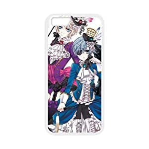 Black Butler iPhone 6 4.7 Inch Cell Phone Case White Gift pjz003_3382763