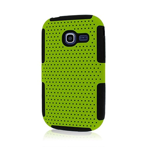 Empire MPERO FUSION M Series Protective Case for Samsung Freeform 5 R480 - Retail Packaging - Neon ()