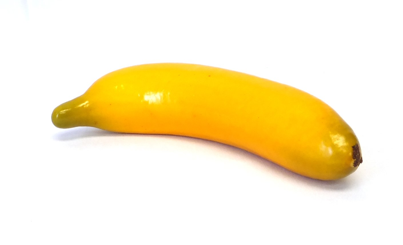 6pc Artificial Banana Bananas - Plastic Yellow Decorative Fruit - Six Pieces by Viabella (Image #1)