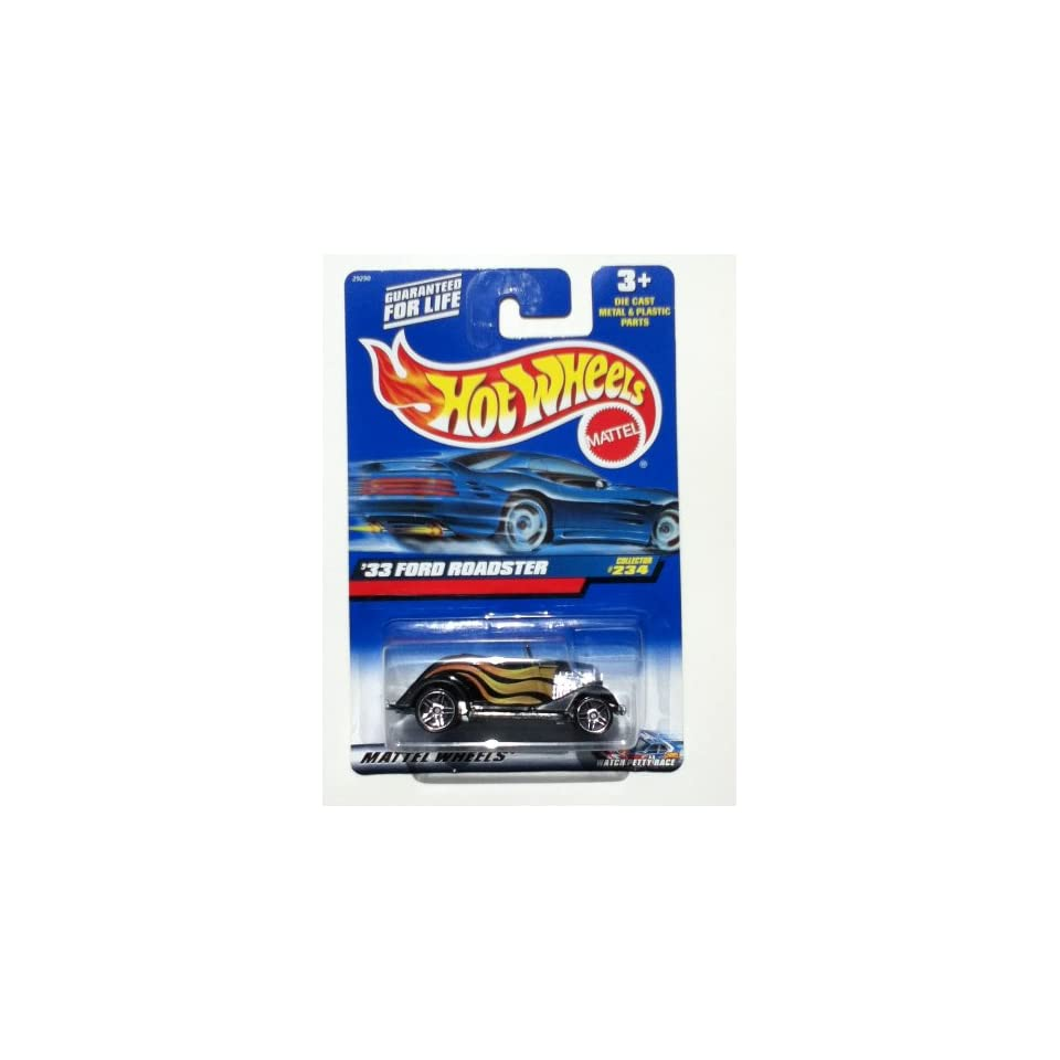 Hot Wheels 33 Ford Roadster #234 Watch Petty Race Square Variant Card