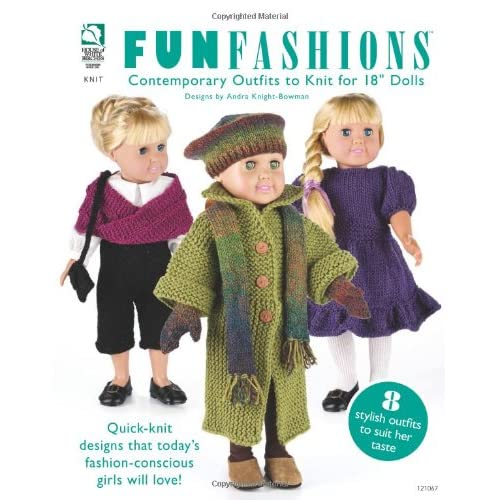 Knitting Patterns For Dolls Clothes Amazon