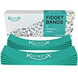 Fidget Chair Bands for Kids - Flexible Seating Classroom Furniture Option for Kids with Fidgety Feet - Bouncy Foot Bands for the Desk or Chair for Students with ADHD, Autism, or Sensory Needs
