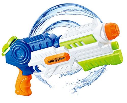Gun Soaker 1200CC Capacity Water Shooter Summer Pool Beach Water Toys for kids. (Super Water Gun)