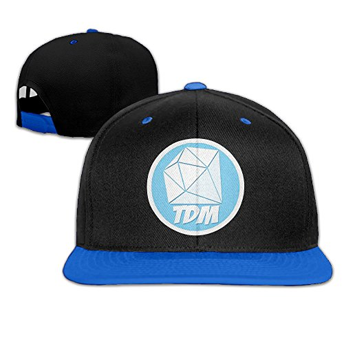 ogbcom-thediamondminecart-tdm-logo-snapback-adjustable-hip-hop-baseball-cap-hat-for-unisex