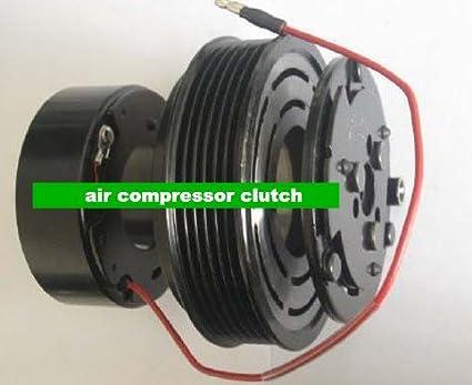 GOWE compresor de aire del embrague de la escobilla para Sanden 709 7h15 Compresor De Aire