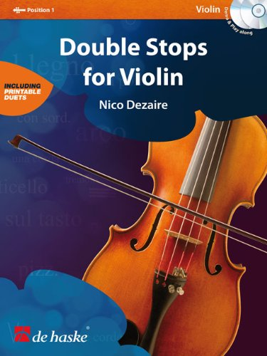 Download DEZAIRE N. - Double Stops para Violin (Inc.CD) pdf
