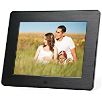 Micca 8-Inch High Resolution Digital Photo Frame With Auto On/Off Timer (M808z)