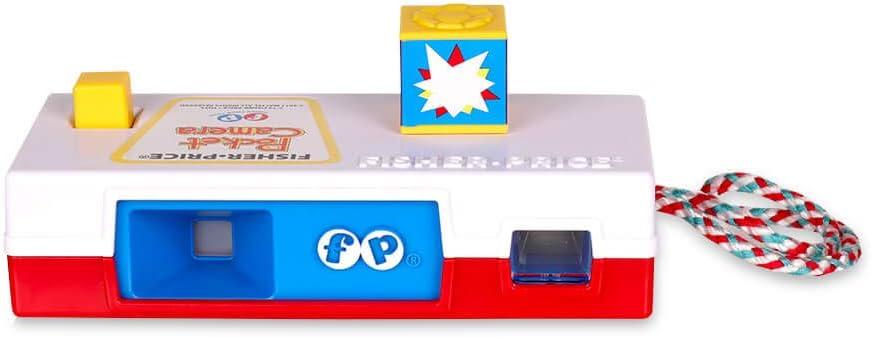 Fisher Price 34766 - Cámara de bolsillo (incluye imágenes de diferentes animales), color rojo, blanco y azul , color/modelo surtido: Amazon.es: Juguetes y juegos
