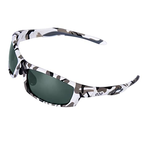 Men/'s Camouflage Polarised Pro Sunglasses for Hunting Fishing Sport With Case