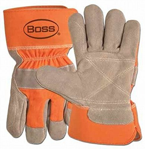 Boss Premium Double Leather Palm Work Gloves X-Large