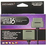 Retro-Bit Extension Cord Cable-Gray, Super NES