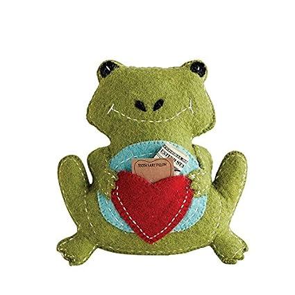 Amazon.com: Heart of America - Cojín de lana con diseño de ...