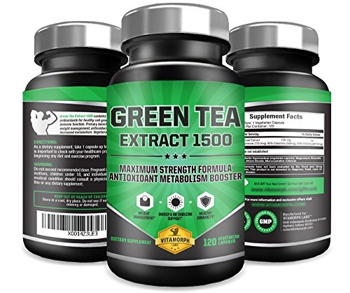 photo Wallpaper of Vitamorph Labs-EGCG Green Tea Extract 1500 | Maximum Potency Green Tea Extract-