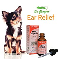 Dr. Goodpet Homeopathic Ear Health Formula for Dogs & Cats, Small