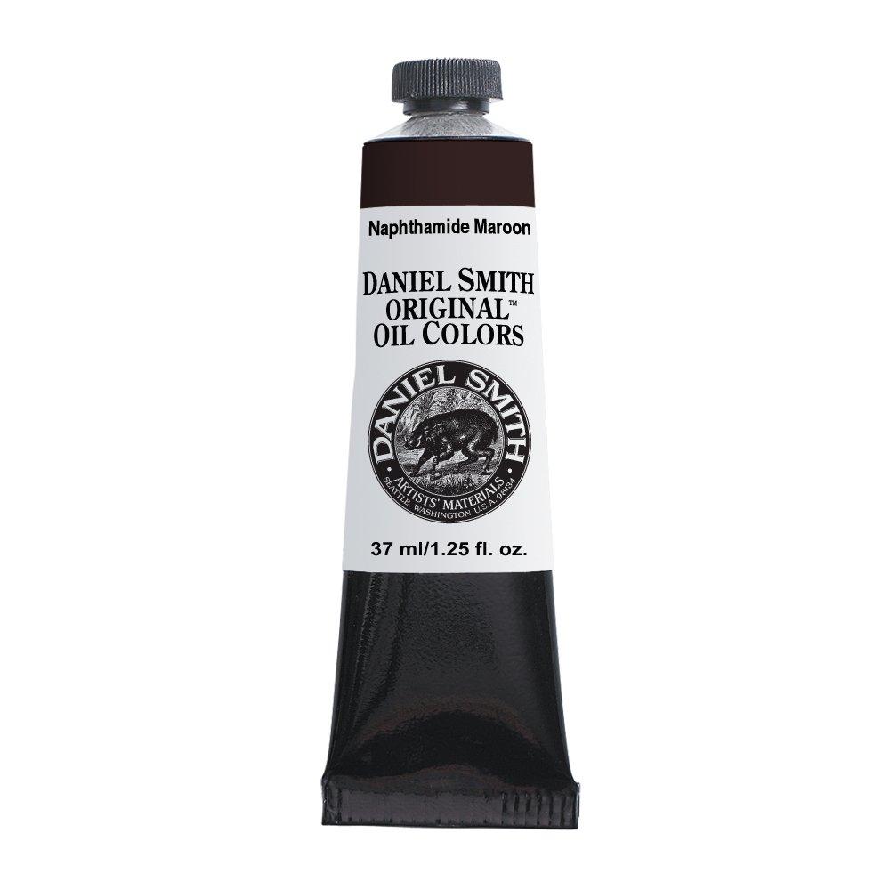 Daniel Smith Original Oil Color 37ml Paint Tube, Naphthamide Maroon by Daniel Smith B0042RTLFM Naphthamide Maroon Naphthamide Maroon