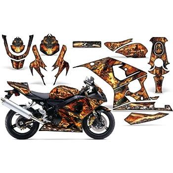 2008-2013 Yamaha TTR 125 AMRRACING ATV Graphics Decal Kit-Flashback