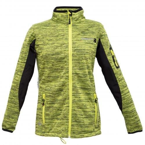 Deproc Active chaqueta cortavientos para mujer con membrana Elmsdale Women darkanthrazit