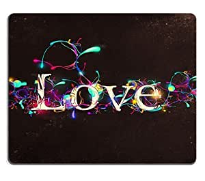 Love wrapped in Colors Mouse Pads Customized Made to Order Support Ready 9 7/8 Inch (250mm) X 7 7/8 Inch (200mm) X 1/16 Inch (2mm) High Quality Eco Friendly Cloth with Neoprene Rubber Liil Mouse Pad Desktop Mousepad Laptop Mousepads Comfortable Computer Mouse Mat Cute Gaming Mouse_pad by ruishername