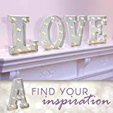Darice 5915-706  Silver Metal Marquee Letter
