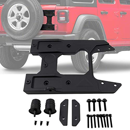 - OHMU for Jeep Wrangler JL Oversized Spare Tire Carrier Tailgate Reinforcement Kits