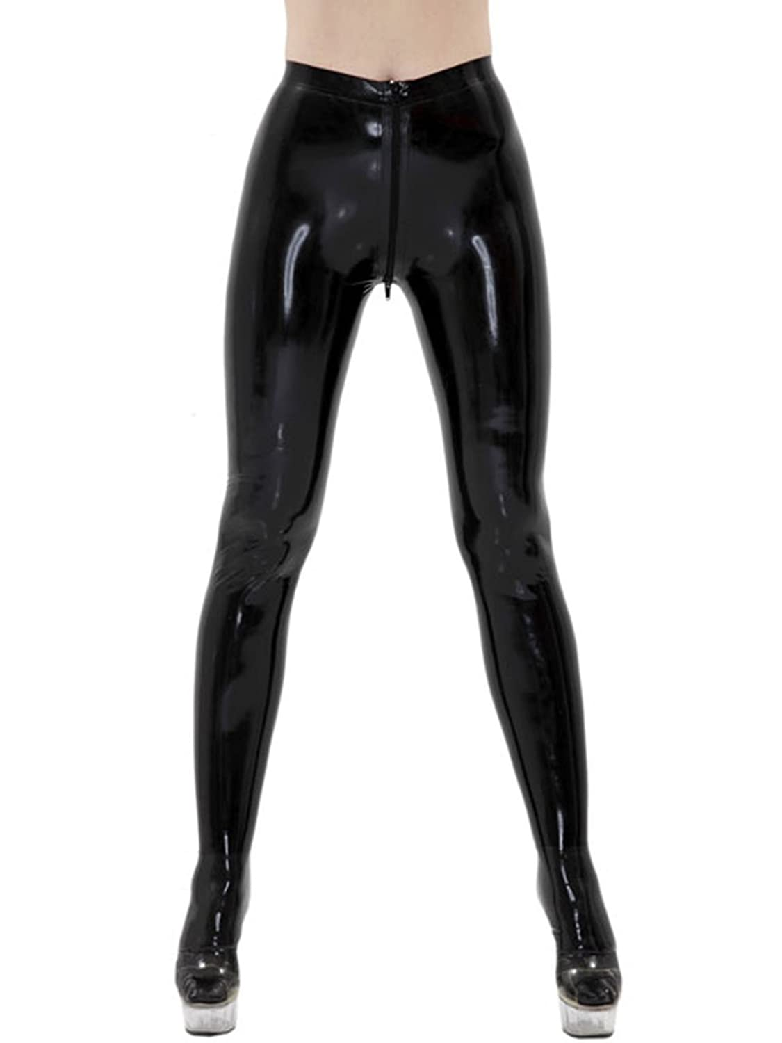 1a7f14483cd61 Top1: AvaCostume Women\'s Black Latex Pants Jeggings More Colors Available