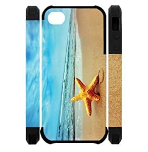 Fashion Case 3D Starfish Running Best Custom cell phone case cover e0FyrcWpjIg Cover for iPhone 5, iPhone 5S