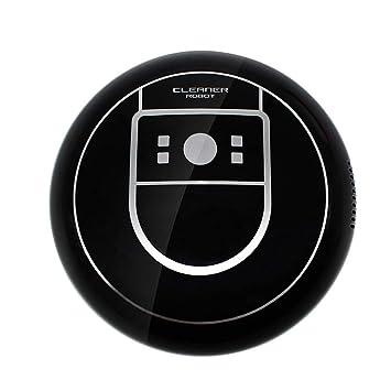 CJDDPO Barredora Inicio Inteligente Aspirador Automático Inalámbrico Recargable Limpiador Máquina Trapeadora Aspirador Portátil Limpiador Automático Robot ...