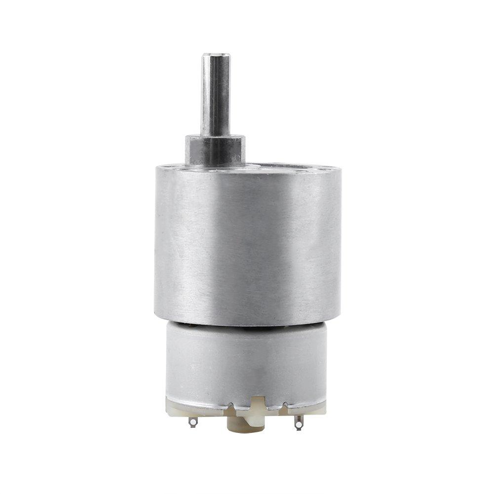 Akozon DC 12V High Torque Gear Box, Electric Motor 3.5/15/30/70RPM Reduction Motor(70RPM)