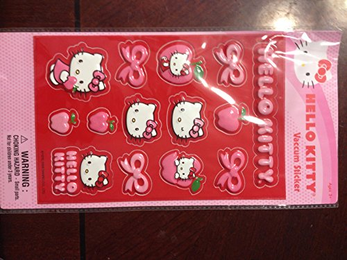 Hello Kitty Vaccum Sticker 14 Pack - 14k Kitty