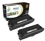 Catch Supplies 508X Black CF360X 2 Pack Premium High Yield Replacement Toner Cartridge Compatible with HP Color LaserJet Enterprise M552 M553n M553x, MFP M577dn M577z M577c Printers |12,500 Yield|