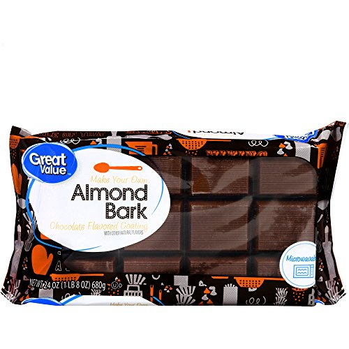 Great Value Chocolate Almond Bark, 24 oz