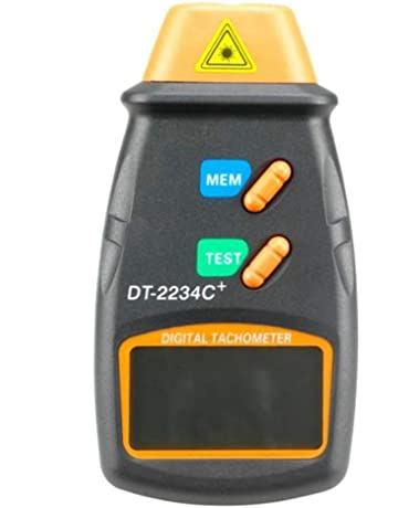 Elenxs DT-2234C + Foto tacómetro Digital del velocímetro del Coche de Motor eléctrico sin