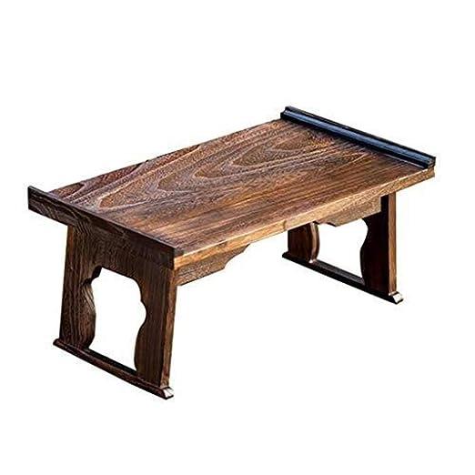 AZHom mesa de té japonesa pequeña mesa for uso doméstico ...