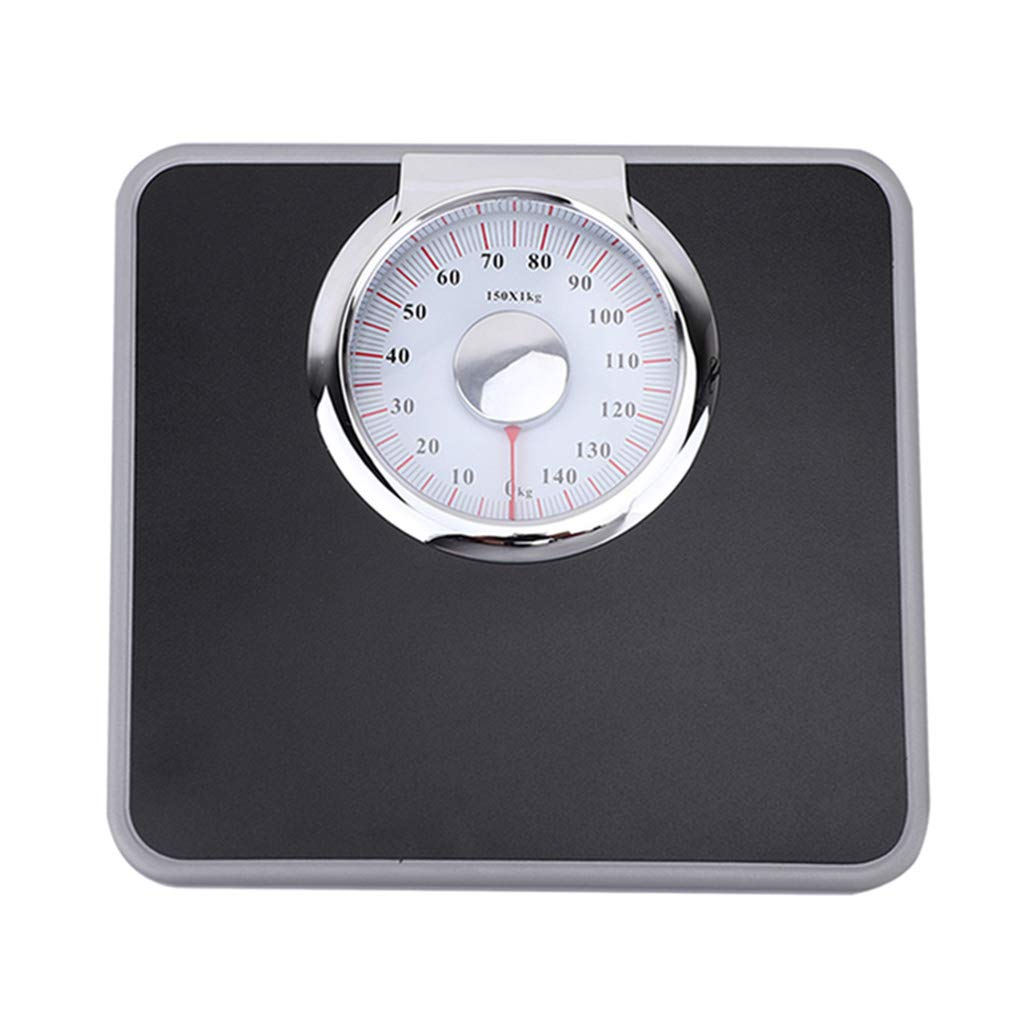 Xyl Analog Mechanical Scales, high-Precision Measuring Bathroom Scales, Precision dial, All Steel Body, Bearing Capacity 150kg (330 lbs)