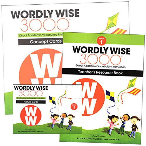 (Wordly Wise, Grade 1 Teachers Resource Pack)