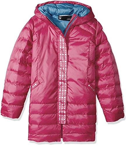 Glam Spyder Girl's Down Jacket Raspberry wO5aqOnCr